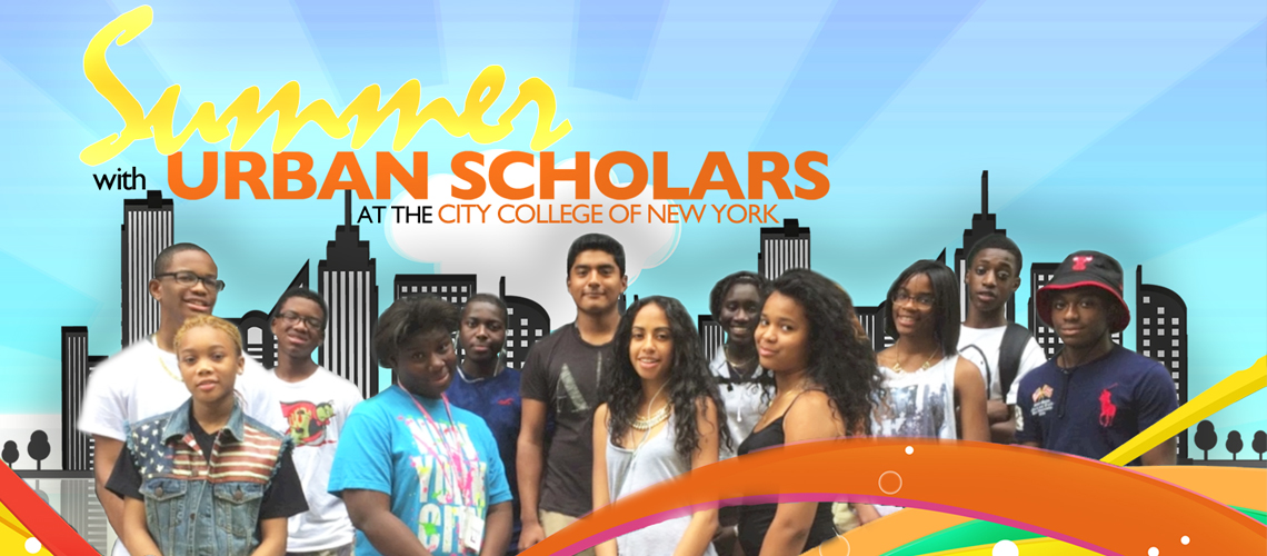 SUMMER WITH URBAN SCHOLARS!